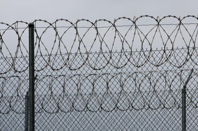 Exterior shot of a Texas prison.