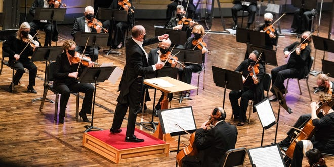 The Columbus Symphony returns to the Ohio Theatre this weekend to perform for limited audiences.