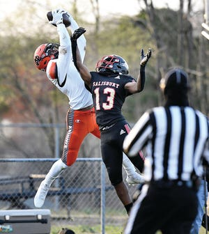 Senior receiver Jamarien Dalton and North Davidson will host Pisgah in Friday's first-round state playoff game. Both teams are 6-1.