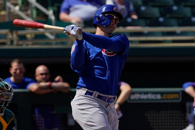 Joc Pederson has taken over in left field for the Chicago Cubs after agreeing to a $7 million, one-year contract. He replaces Kyle Schwarber.