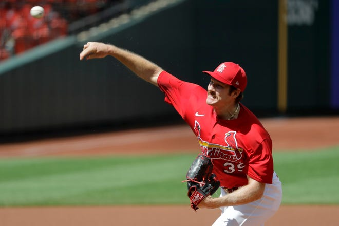 The St. Louis Cardinals' rotation took a recent hit when Miles Mikolas developed soreness in his right shoulder that has ruled him out for at least one turn on the mound.
