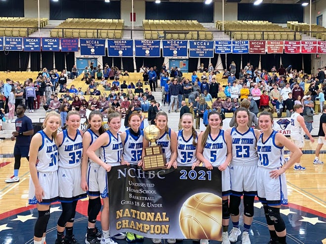 The Lubbock Lady Titans won their second national homeschool championship since 2014 on Friday, March 19, 2021 in Springfield, Mo.