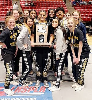 The Leesville Lady Cats claimed the Class 4A state runner-up trophy on Friday at the LHSAA championships.
