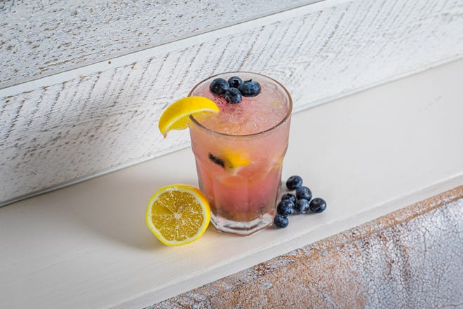 New cocktails at Coyo Taco's back bar include Bekah's Blueberry Lemonade.