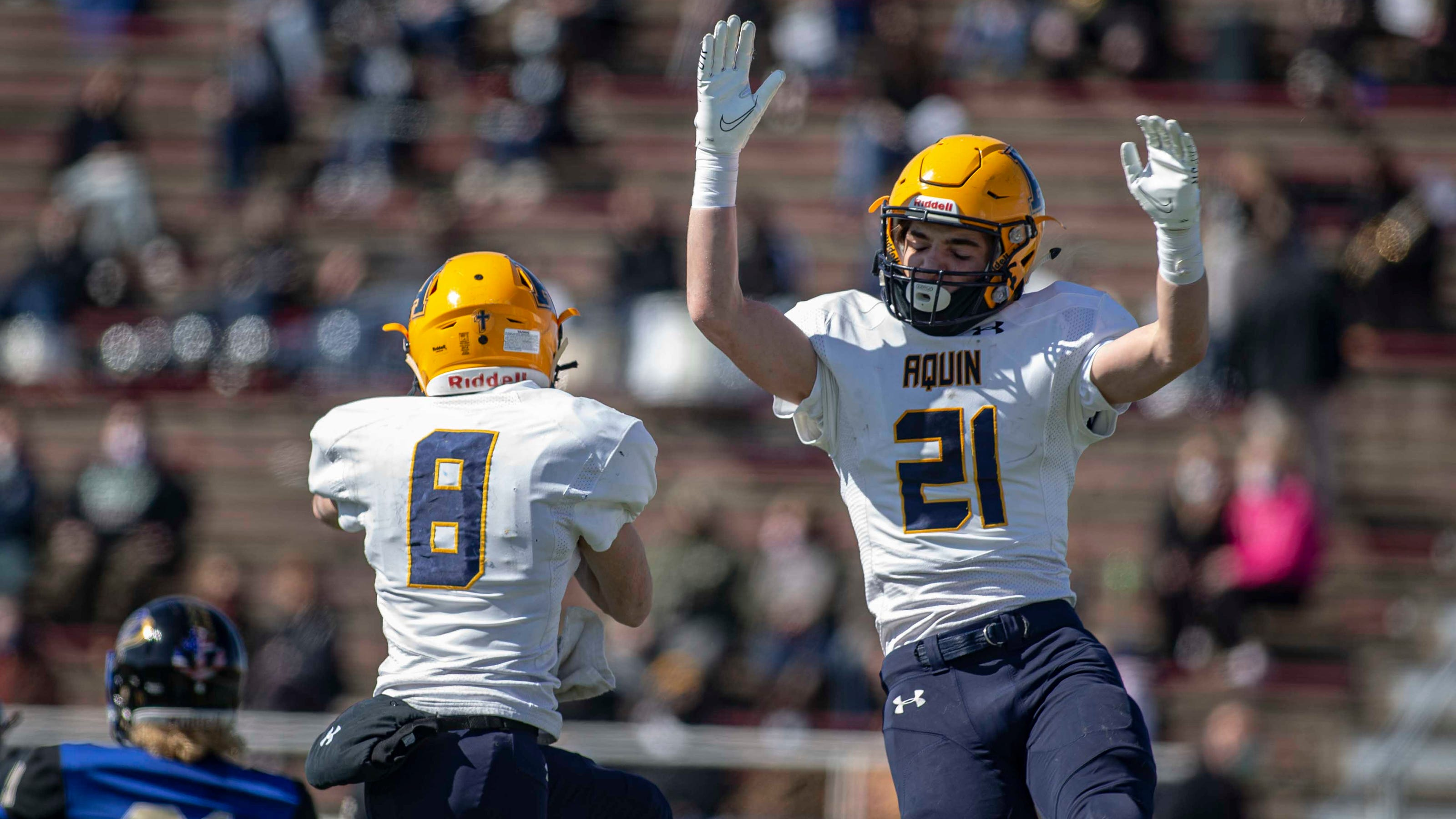 Aquin No. 1 in state and in rushing in final NUIC stats of COVID-19-shortened season