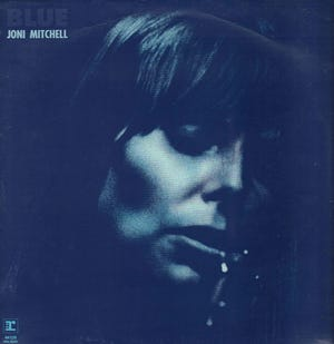 """The 50th anniversary of Joni Mitchell's groundbreaking """"Blue"""" album will be the focus of a virtual conference at the University of Connecticut on April 9 that will celebrate Mitchell's musical, artistic and cultural legacy."""