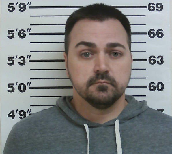 The Osage County Sheriff's Office on Thursday arrested Chad A. Ropar, shown here, in connection with crimes that included online sexual solicitation.
