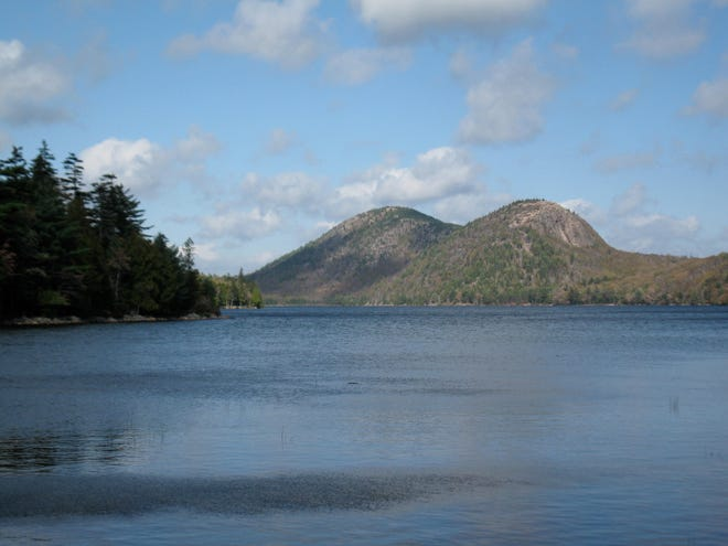 Two hikers from Rutland have died after apparently falling about 100 feet in Maine's Acadia National Park, officials said Saturday.