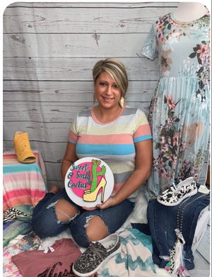 Cheryl Holbrook, of Sweet & Sassy Cactus Boutique, is opening up a store front on Main Street in Newcomerstown