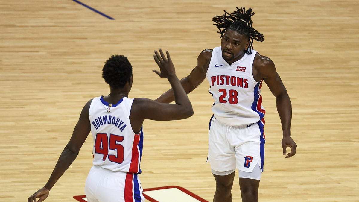Beard: Pistons' youth brings hope, reminder that road to contending can be crooked 1