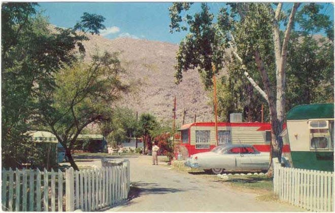 The Orchard Trailer Park on 1862 South Palm Canyon Drive in an undated photograph.