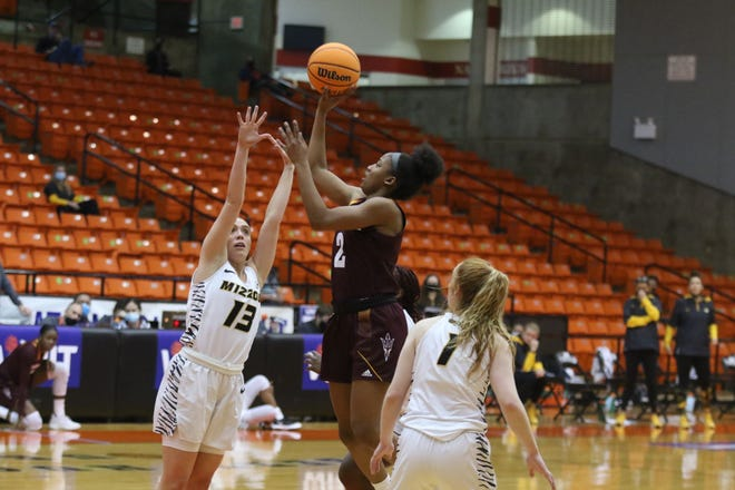 ASU freshman guard Jaddan Simmons had 18 points, seven rebounds, four assists Saturday in a 50-39 WNIT consolation win over Missouri.