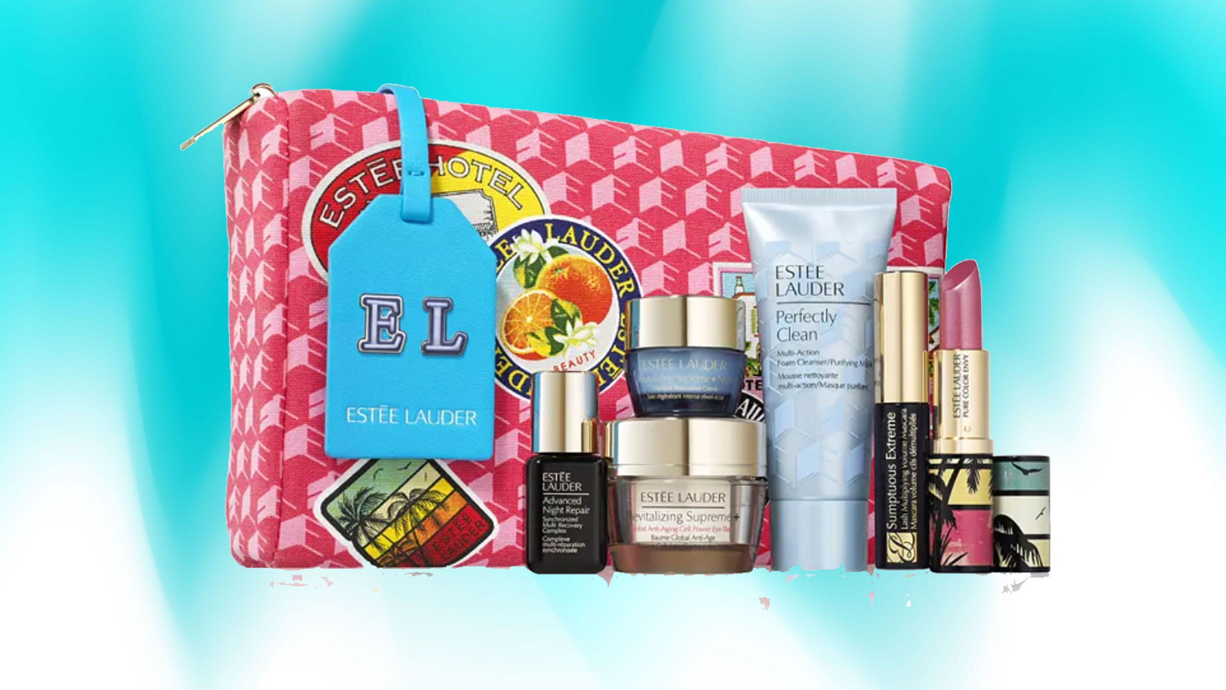 Estee Lauder Christmas Set 2021 Estee Lauder Free Gift Get A Seven Piece Set From The Brand Free Of Charge