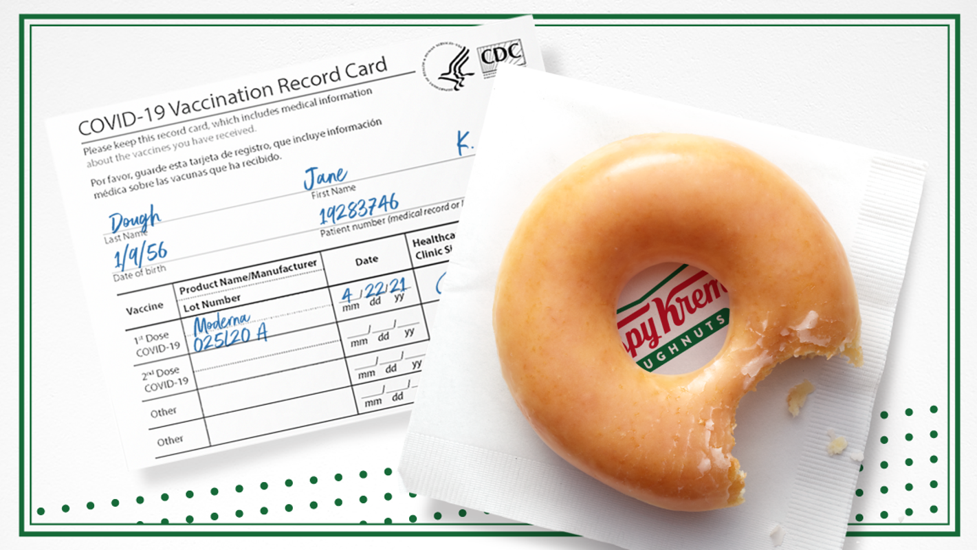 COVID vaccine motivation: Krispy Kreme is giving away free donuts for showing vaccination card – USA TODAY