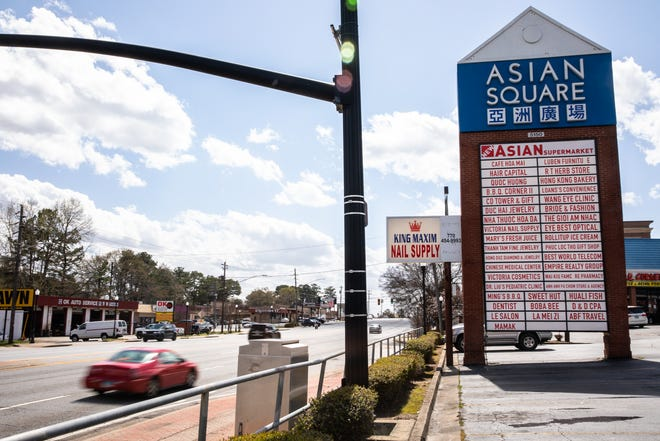 The Asian Square on Buford Highway sits in the heart of one of the most diverse places in Georgia, Doraville.