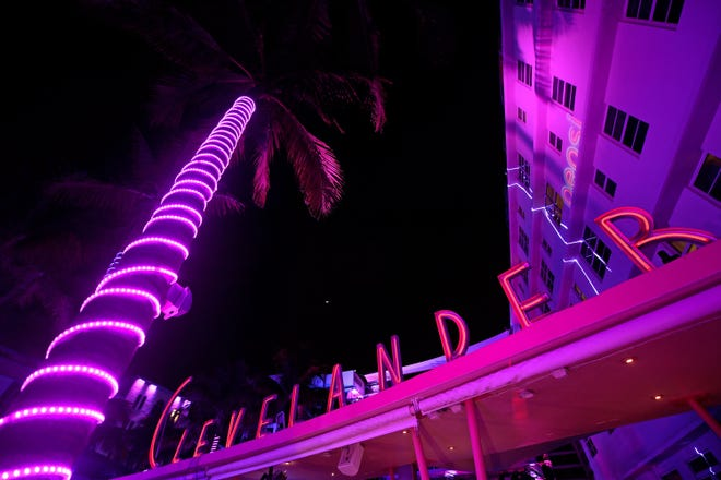 Jan 30, 2020; Miami, Florida, USA; A general view of the Clevelander Hotel on South Beach Miami prior to Super Bowl LIV between the San Francisco 49ers at Kansas City Chiefs.
