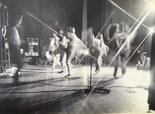 Police raided a performance of 'Hair' in Augusta in 1972.