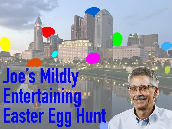 Each year, columnist Joe Blundo sends Dispatch readers on a virtual hunt through central Ohio. (Eggs bear no correlation to actual answers.)