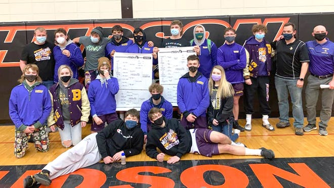 An astonishing 12 Bronson Vikings finished in the top four of their respective weight classes, including two champions, to advance on to the Regional round at Saturday's MHSAA D4 District Wrestling tournament