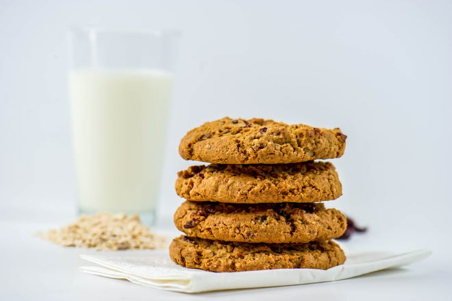 Oatmeal cookies are the ultimate treat.