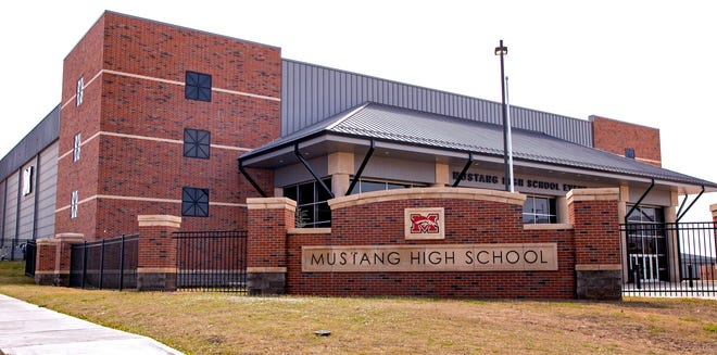 Two students from Mustang High School died in a weekend car accident. The school notified families and staff of the deaths on Sunday.