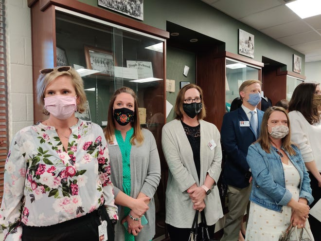 Parents gathered at a recent Prosper ISD school board meeting to talk mask mandates.