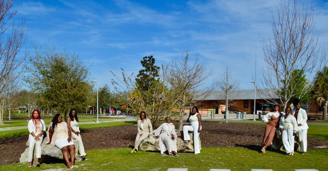 Intuitive Design Clothing hosted a photo shoot at Depot Park to celebrate women during Women's History Month. The women who participated ranged from city leaders, business owners, authors and activists.