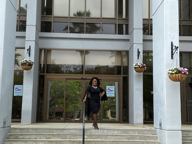 Desmon Duncan-Walker, District 1 Commissioner-Elect on the Gainesville City Commission, plans to be a voice for the people during her tenure on the commission.