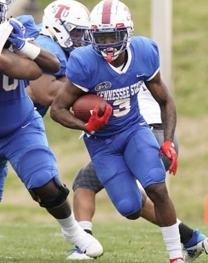 Former Cane Ridge running back Devon Starling rushed for 149 yards on 19 carries, but it wasn't enough for Tennessee State, which fell Sunday to Murray State 35-13.