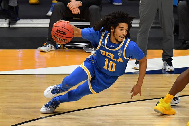 Tyger Campbell and the Bruins are headed to the second round.