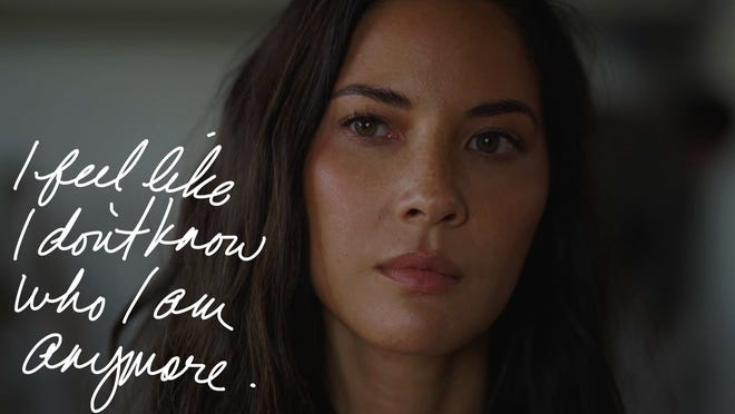 """Olivia Munn stars as a movie executive struggling internally with the way her life's going in """"Violet."""""""