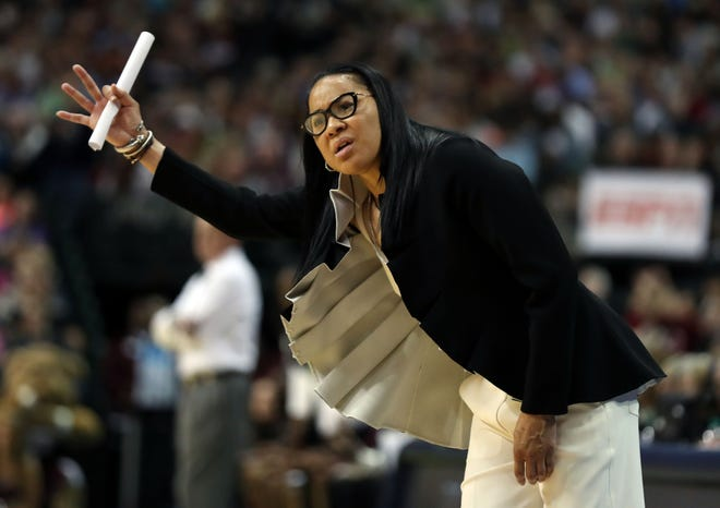 South Carolina coach Dawn Staley has long been a voice for Black women coaches, social justice and equality.