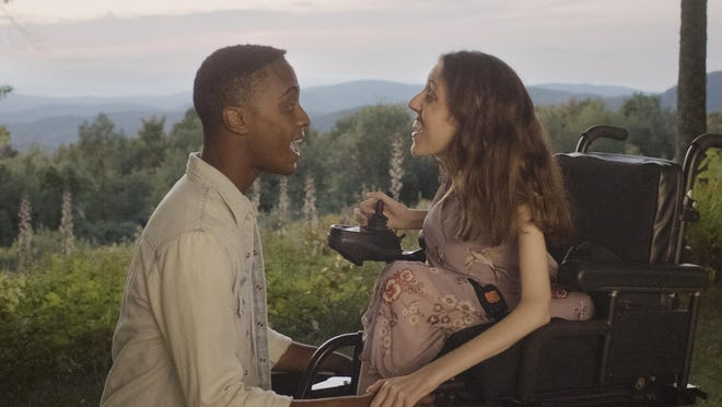 """Rickey Wilson Jr. and Shannon DeVido fall in love in the inclusive musical """"Best Summer Ever."""""""