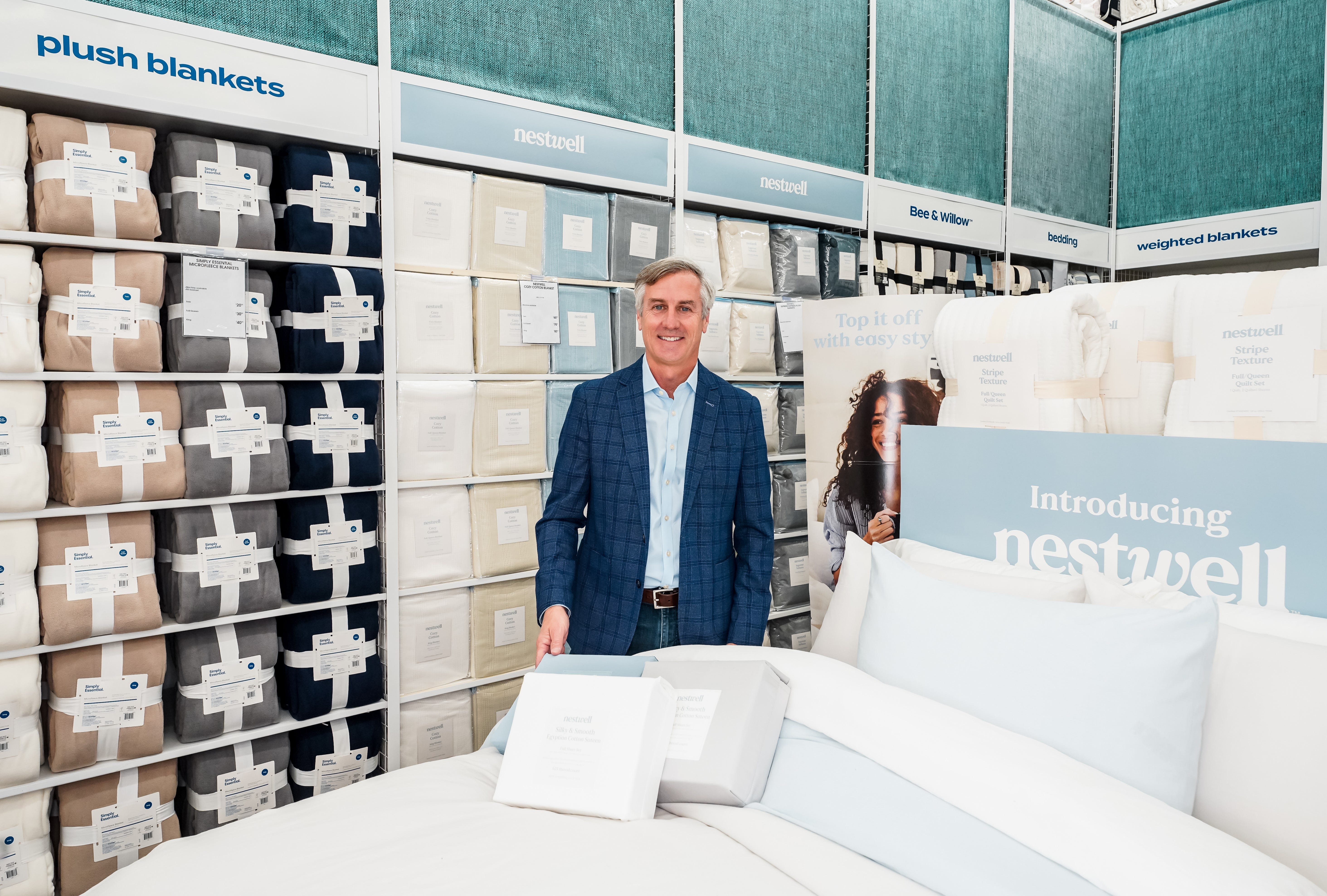 Bed Bath & Beyond debuts Nestwell brand. And yes, you can use the 20% off coupon on the sheets and towels