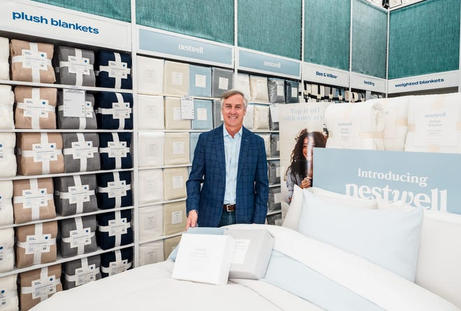 Joe Hartsig, executive vice president and chief merchandising officer at Bed Bath & Beyond, said Nestwell is the first of eight new brands the retailer is launching by February 2022.