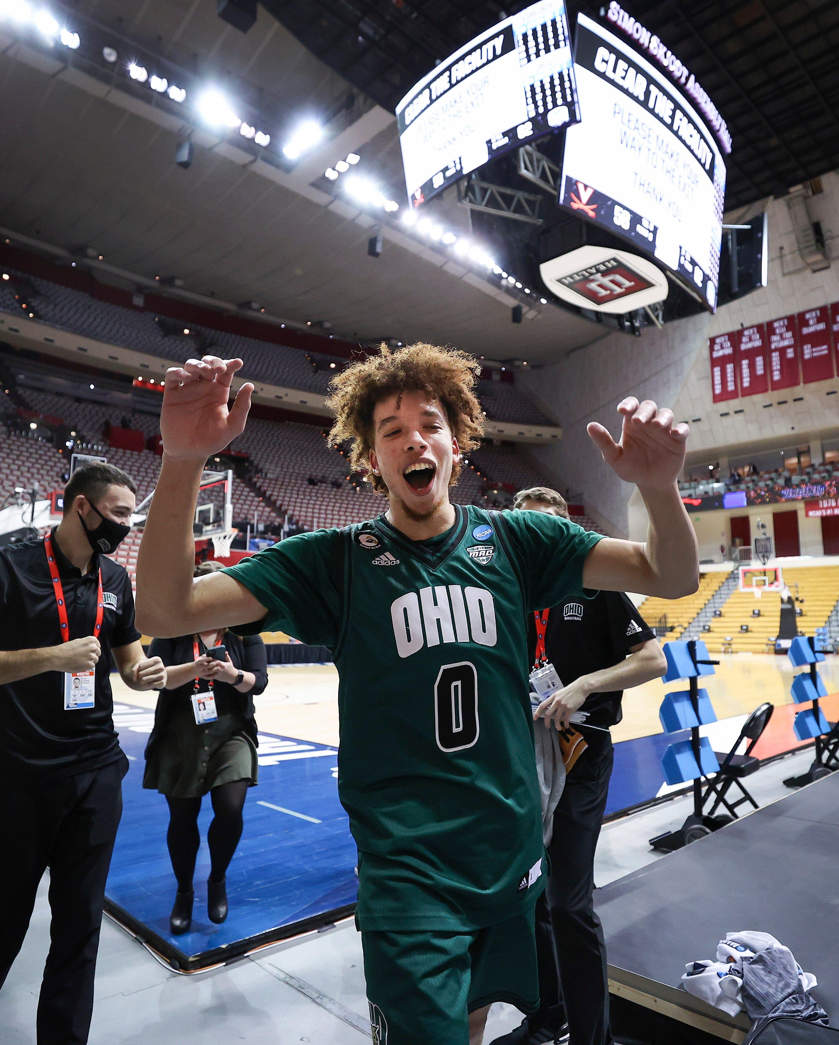 His life is a movie : Meet Jason Preston, Ohio University s unlikely star who led the Bobcats past Virginia