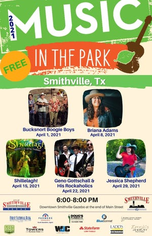 Music in the Park returns to Smithville.