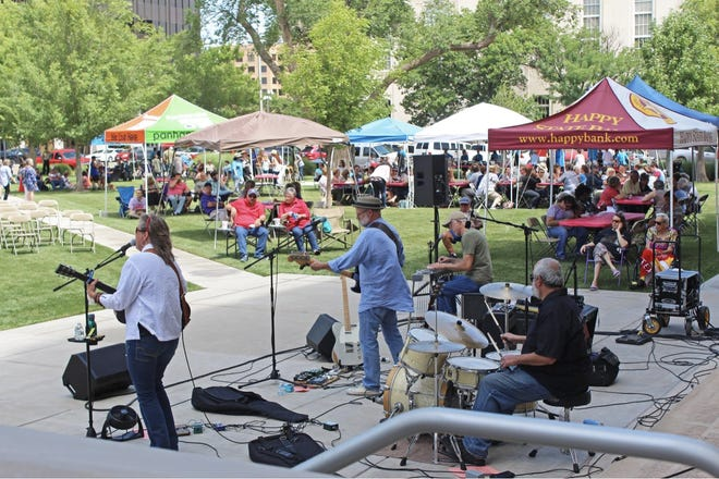 The 2021 season of High Noon on the Square will begin at 12 p.m. Wednesday, featuring music from Ed Montana. The other dates this season include June 9, 16, 23 and 30, as well as July 7, 14, 21 and 28.