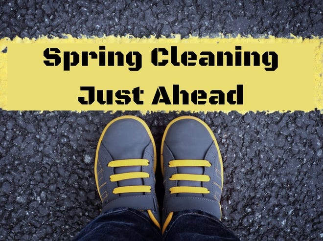 Spring cleaning is also a time to take a look at yourself.