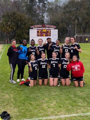 The Wade Hampton High School Varsity Girls Soccer team recently won their region and are headed to the playoffs.