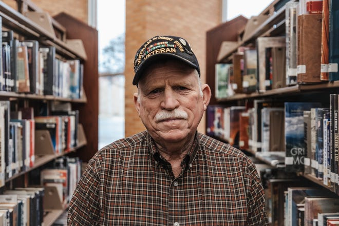 Author Joe Todd at the Bartlesville Public Library