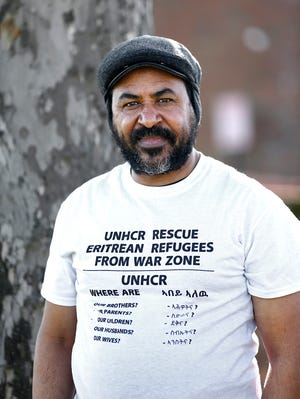 Mulugeta Gebresilasie, a former Eritrean refugee who now works at Community Refugee and Immigration Services (CRIS), a local refugee resettlement agency, said he worries about refugees still in danger in the Tigray region of Ethiopia.