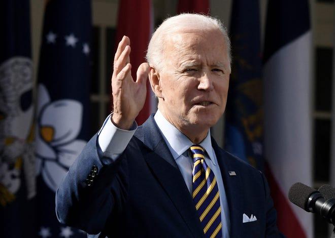 President Joe Biden will speak at The James cancer center at Ohio State University on Tuesday.