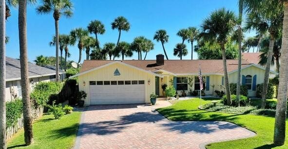 This house on Lambert Avenue in Flagler Beach sold recently for $785,000. Built in 1975 on the Intracoastal Waterway, it has three bedrooms and two baths in 1,821 square feet of living space. It also has a boathouse, boat lift, dock, updated kitchen, heated screened pool and spa, sauna and fireplace.
