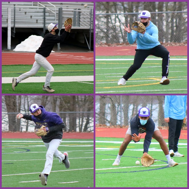Juniors Jack Smith (top left) TJ Schmalzle (top right) Wyatt Peifer (bottom left) and Mabret Levant (bottom right) all saw significant action as freshmen and now form the core of Wallenpaupack's club. Backed by some experienced seniors and some up and coming underclassmen, the Buckhorns are poised to make a deep run into the post-season.