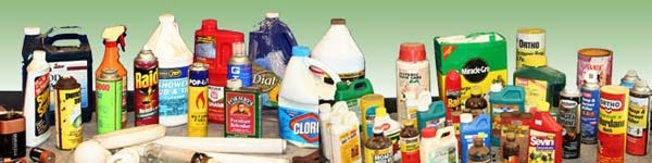Shown here are examples of the types of household products accepted by the Oneida-Herkimer Solid Waste Authority's Household Hazardous Waste Facility, which opens for the season April 1.