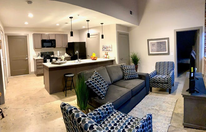 The interior of the Grey Hosiery Mill apartments in downtown Hendersonville, which was recognized as a Best Adaptive Reuse Project in the state during the North Carolina Main Street Awards Ceremony on March 1.