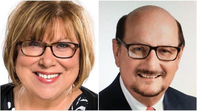 Lilija Stevens and Gary Manier