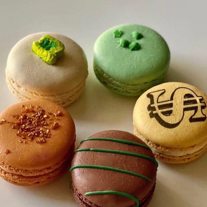 Macarons from Crave Creperie + Dessert Bar in Lubbock.