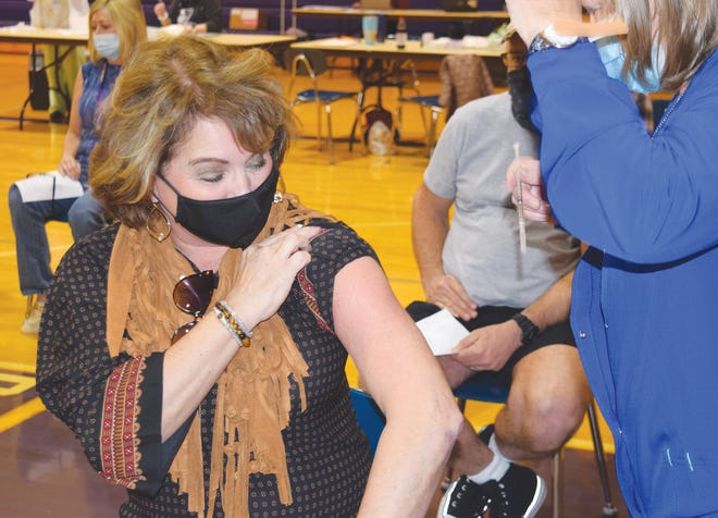 The Camdenton R-III School District, in partnership with the Camden County Health Department, rolled out COVID vaccines for teachers and school staff.